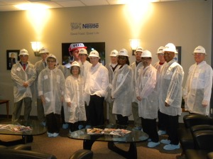 Board in Clean Suits at Nestle Dreyers