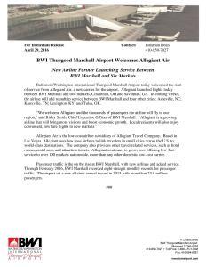 BWI Allegiant inaugural press release-page-001